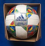 Мяч футбольный ADIDAS UEFA NATIONS LEAGUE OMB CW5295 (размер 5), фото 2