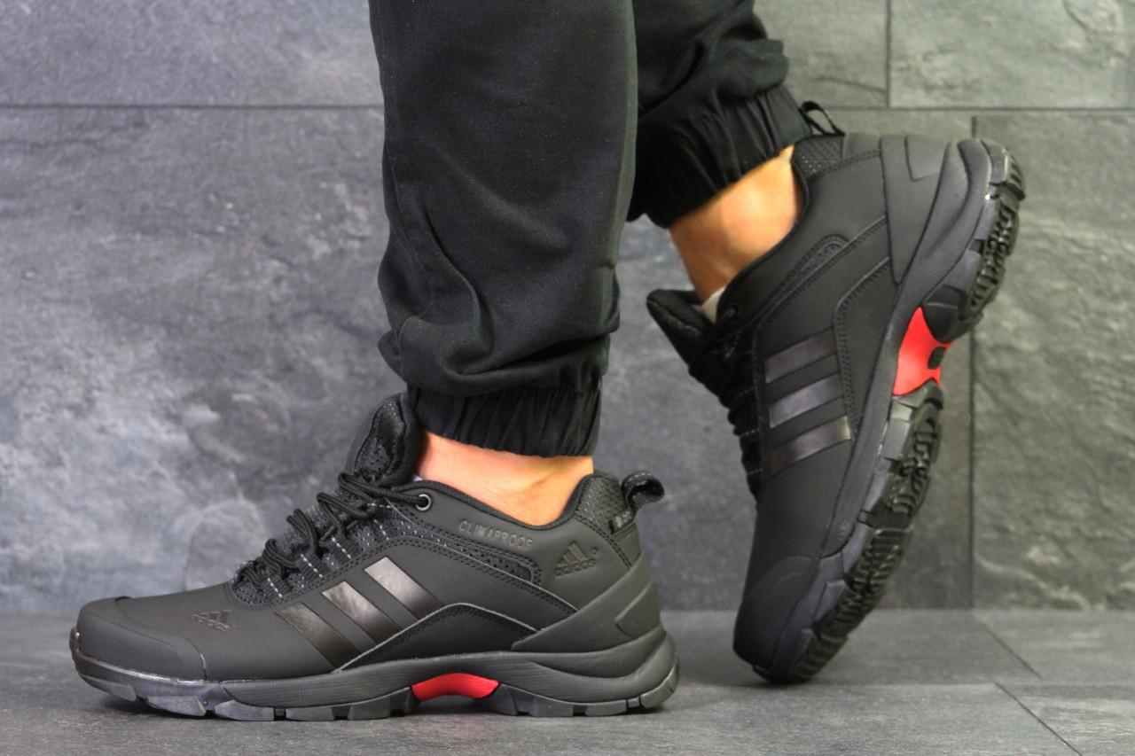 Кроссовки в стиле Adidas Climaproof (черные) термо кроссовки код товара 6283