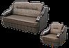 Кресло Бостон (60 см) в ткани 2 категории (раскладное)