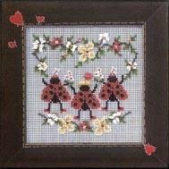 Набор для вышивки Mill Hill Ladybug Dance (2004)