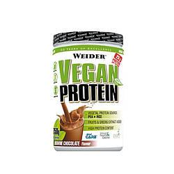 Протеин веганський шоколадный Weider 750 г.