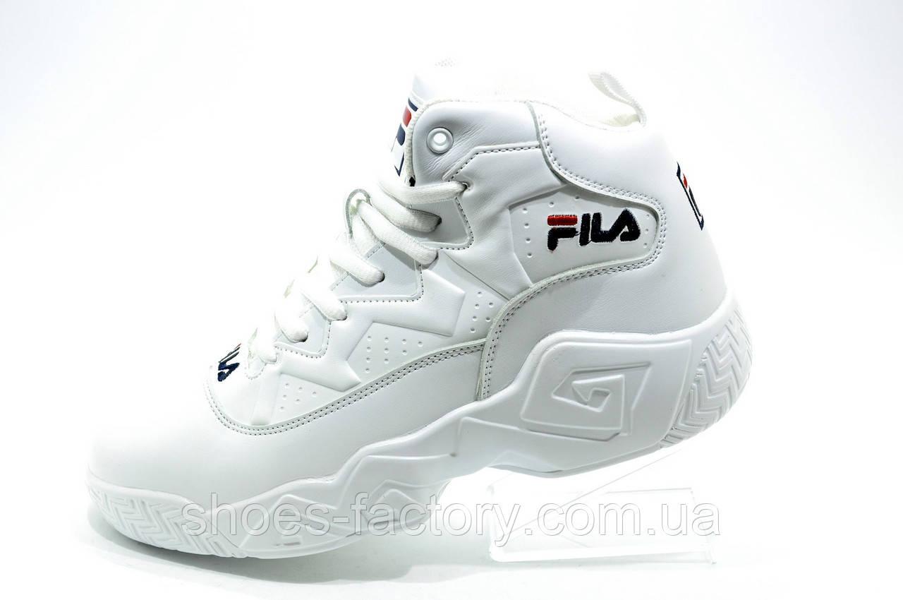 Белые зимние кроссовки в стиле Fila MB Mesh 9db6648cabc2b