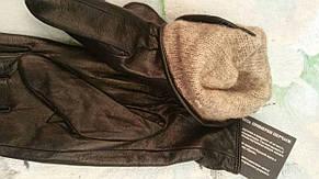 Женские кожаные перчатки, фото 3
