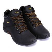 Чоловічі шкіряні зимові черевики Ecco Infinity Black. Розмір 44 8f8cda9c31d41