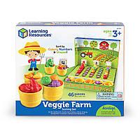 Навчальний ігровий набір-сортер Learning Resources - Розумний фермер (LER5553), фото 1