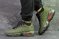 Кроссовки в стиле Nike 95  Sneakerboot (темно зеленые) термо кроссовки код товара 6285, фото 1