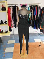 Карнавальный женский костюм Черная Кошка с малиновыми ушками Kaprizz