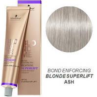 Осветляющая краска для волос (Пепельный) Schwarzkopf Professional BlondMeSuperlift Ash 60 мл
