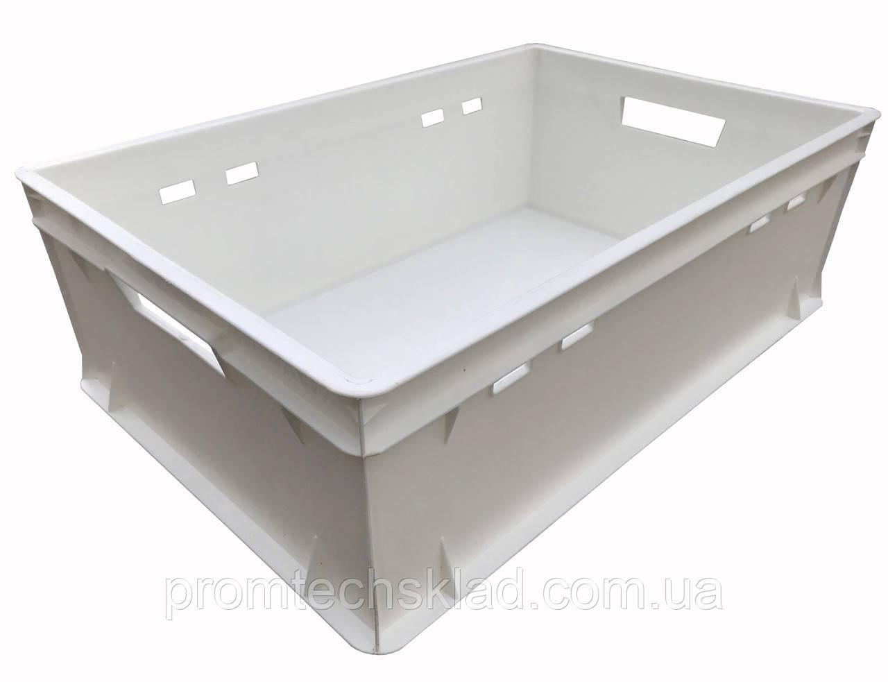 Ящик пластиковый 600х400х200  E2 белый