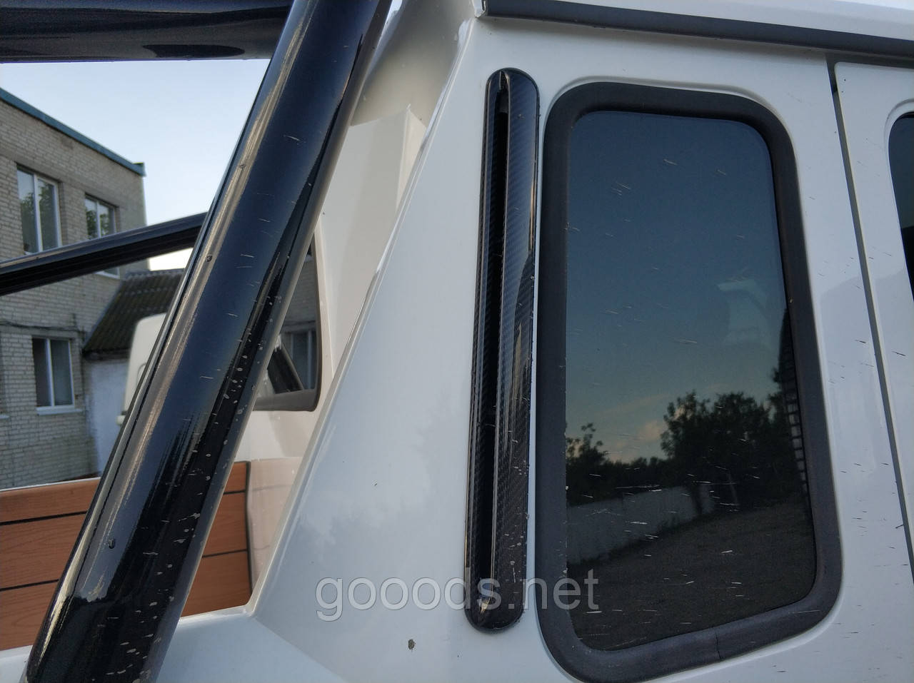 Карбоновые накладки на воздуховоды задней части Mercedes W463