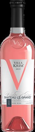 Вино розовое полусладкое Villa Krim Shateau Le Grand 0.75л, фото 2