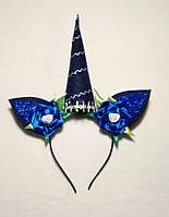 Карнавальная маска - обруч Пони Единорог для сюжетно ролевых детских игр , фото 1