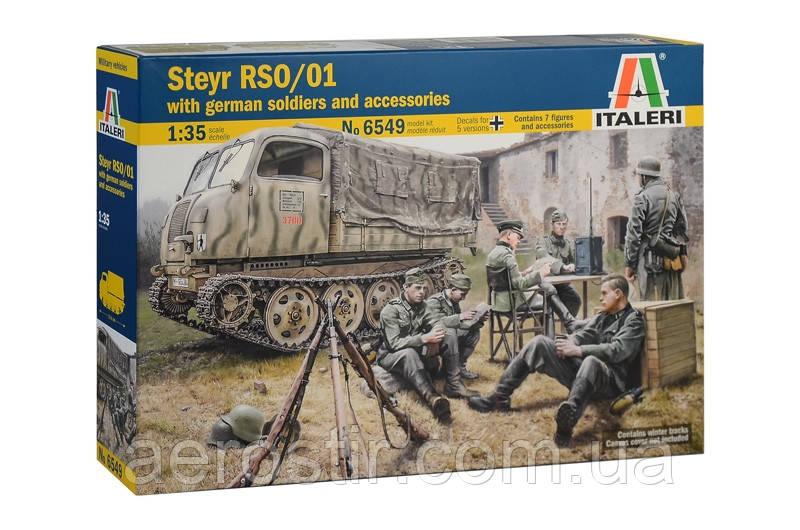 Steyr RSO/01 1/35  Italeri 6549
