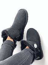 Женские UGG Australia Bailey Bling Mini Black, фото 2