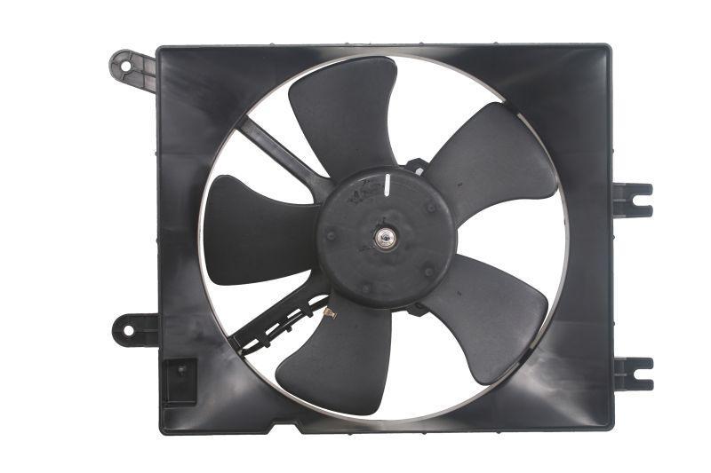 Вентилятор радиатора дополнительный Лачетти, Нубира. KAP, 96553241