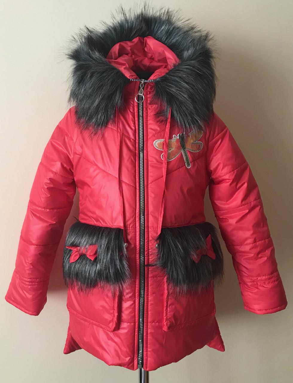 зимняя одежда для девочек 8 лет