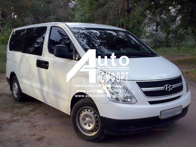 Установка (врезка) автостекла на Hyundai H-1 II (H-300) (08-) (Хюндай H-1 II (H-300) (08-)