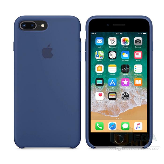 Чехол Soft Silicone Case для Apple iPhone 8 / 7 Plus Синий