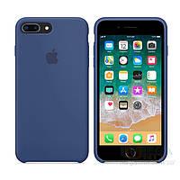 Чехол Soft Silicone Case для Apple iPhone 8 / 7 Plus Синий, фото 1