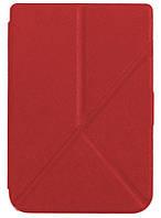 Обложка PocketBook 614/615/624/625/626 plus/ Touch Lux 3 полиуретановая красная - чехол для электронной книги