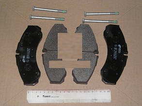 Колодка тормозная IVECO ОЕ 42548194 DAILY передняя REMSA 0651.00