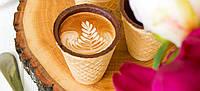 Съедобный стаканчик для кофе в упаковке 33 шт.