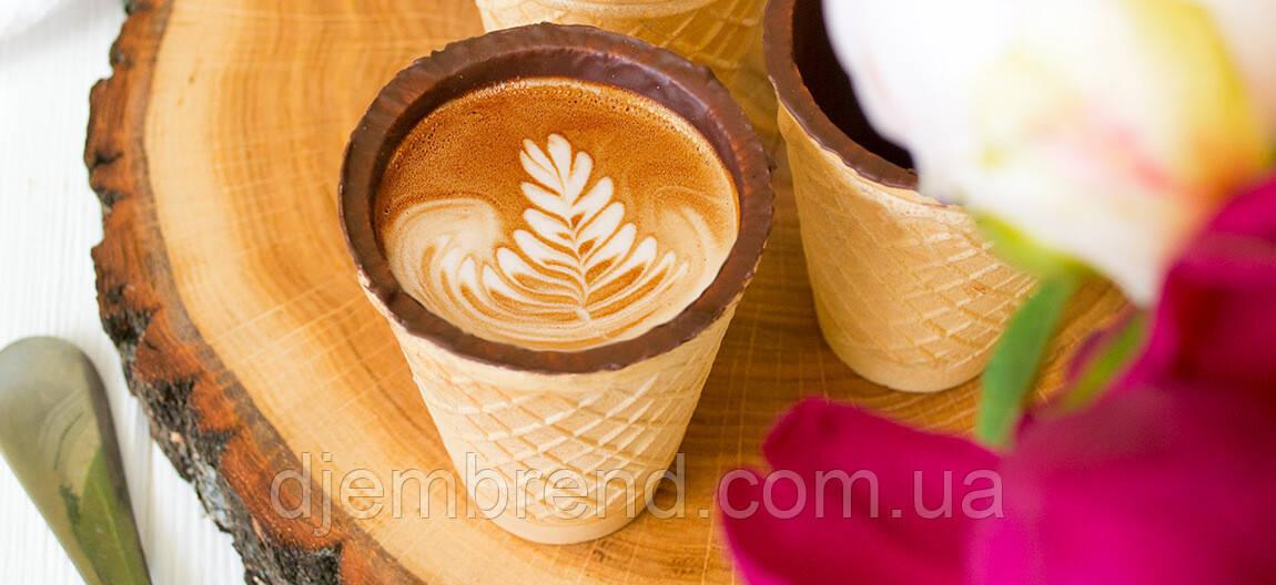 съедобный стаканчик для кофе россия