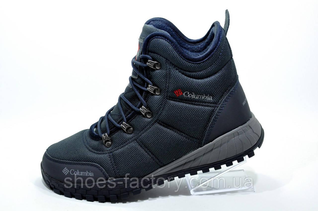 Утепленные мужские ботинки в стиле Columbia Fairbanks Omni-Heat, на меху