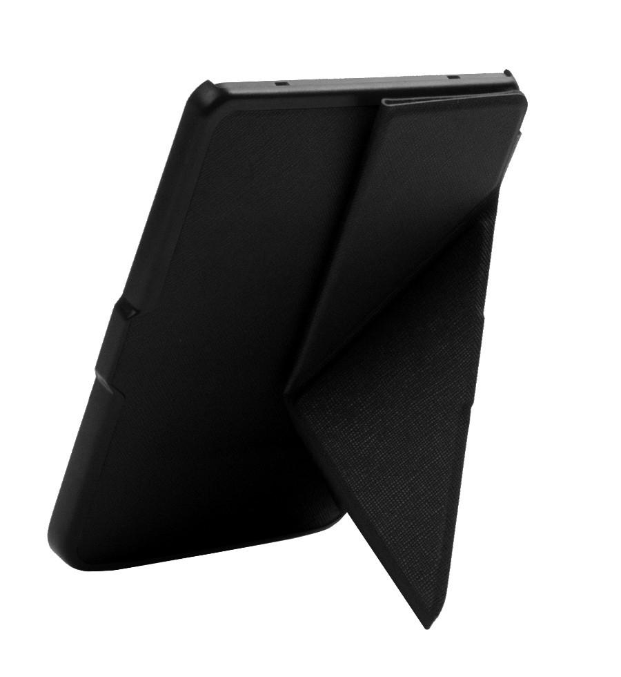 Обложка для Покетбук 614/615/624/625/626 plus/ Touch Lux 3  черная полиуретановая