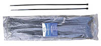 Кабельная стяжка 4.7*400 мм черная (100 шт.) LXL