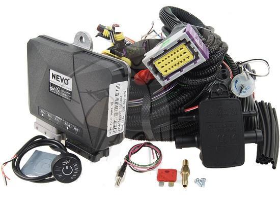 Электроника ГБО KME Nevo PLUS 4 цил с переключателем TREND DG7 RGB