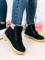 Жіночі черевики зимові Тімберленд, фото 1