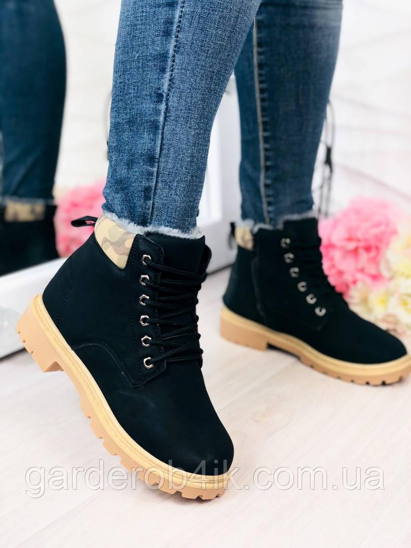 Женские ботинки Тимберленд зимние