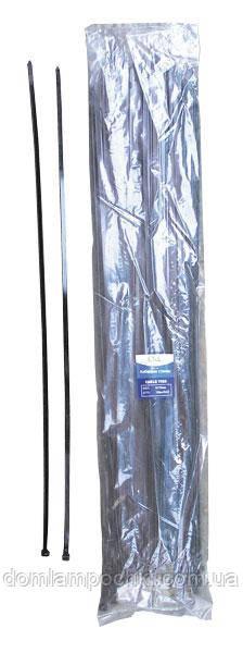 Кабельная стяжка 7.5*850 мм черная (100 шт.) LXL