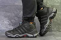 Кроссовки в стиле Adidas Terrex Ortholite (черные с серым) термо кроссовки код товара 6292, фото 1