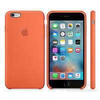 Чехол Soft Silicone Case для Apple iPhone 6/6S Оранжевый, фото 1