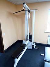 Тренажер верхняя-нижняя тяга 105 кг (блок для мышц спины)