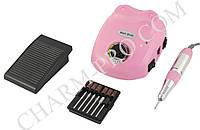 Фрезер Nail Drill для маникюра и педикюра 30W/30000 об. мин. (розовый)