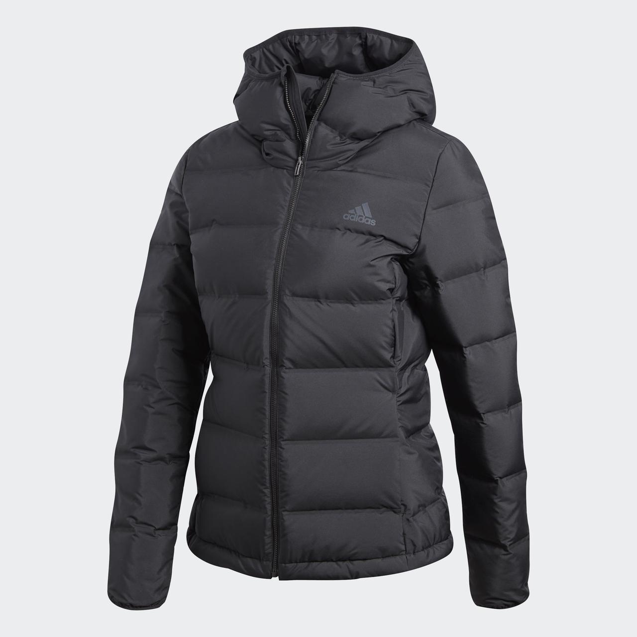 4ee169ec93d68 Мужской пуховик Adidas Helionic Hooded Down Jacket: продажа, цена в ...
