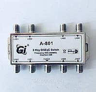 DiSEqC 1.1 8x1 GI A-801