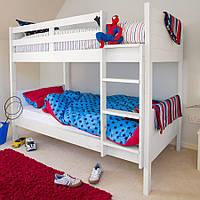 """Двухъярусная деревянная кровать """"Оптимус"""" из массива, фото 1"""
