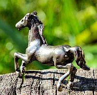 Коллекционная скульптура,Конь,лошадь, Миниатюра, Серебро, #S/V