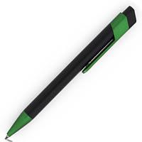 Ручка шариковая пластиковая NORA, чорная, фото 1