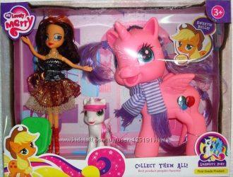 Кукла 88143 Little Pony 2шт кукла 23см, аксессуары
