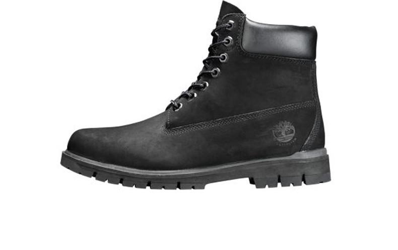 Мужские ботинки Timberland Fur Black (С натуральным мехом)