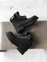 Чоловічі черевики Timberland Fur Black (З натуральним хутром), фото 3