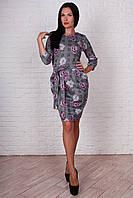 Комфортное платье с карманами