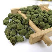 Полезный чай улун женьшень, зелёный, вкусный и ароматный, бодрящий утренний напиток, вакуумный пакет, 100 г