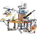 """Конструктор Lepin 02070 (Lego City 4210) """"Платформа береговой охраны"""", 492 дет., фото 2"""
