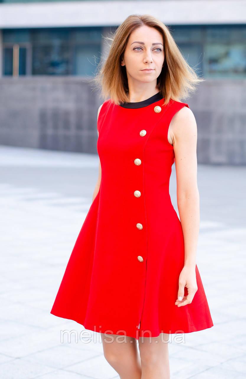 d8df32c19f2 Красное коктейльное платье - Интернет магазин женской одежды Melisa в  Харькове